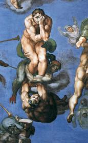 The Last Judgment / Michelangelo, Sistine Chapel