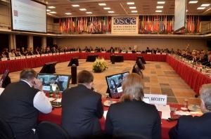 Plenary session at OSCE HDIM 2015