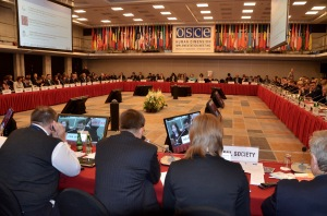 Plenary session at OSCE HDIM 2015