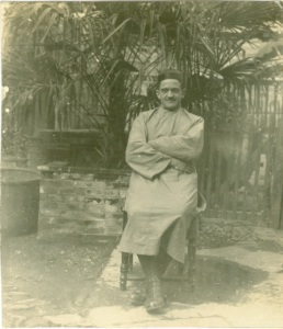 Rev. Baer in China, 1932